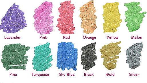 SCREEN PRINTING SUPPLIES/Glitter Powder