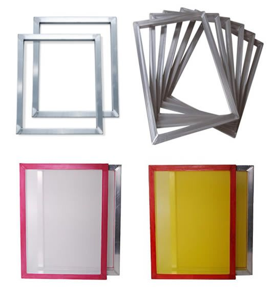 SCREEN PRINTING SUPPLIES/Frames